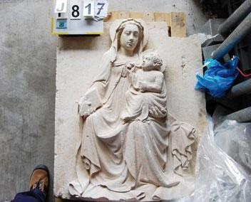 Madonna col Bambino della chiesa di San Marco all'Aquila